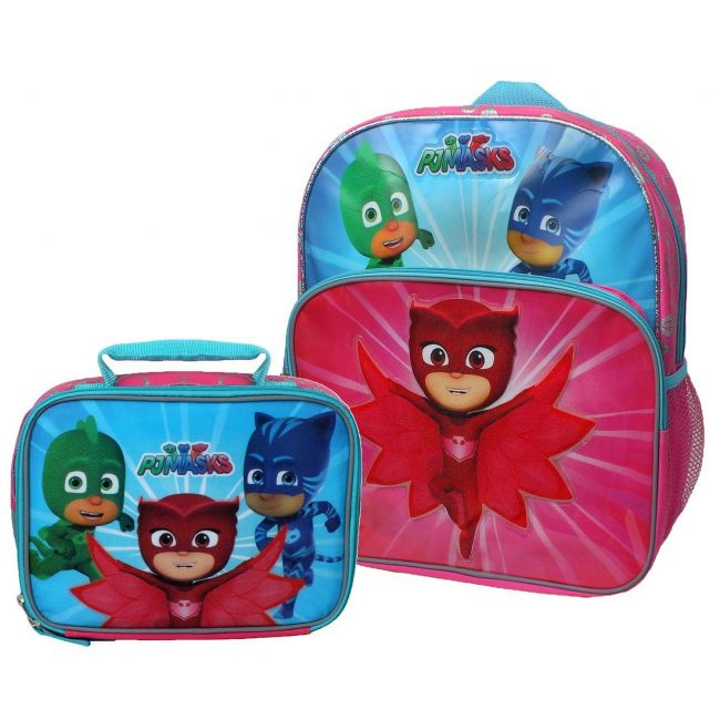 Pj Mask - Expc Coloring And Activity Back Pack
