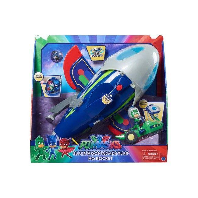 Pj Mask - Super Moon Adventure Hq Rocket