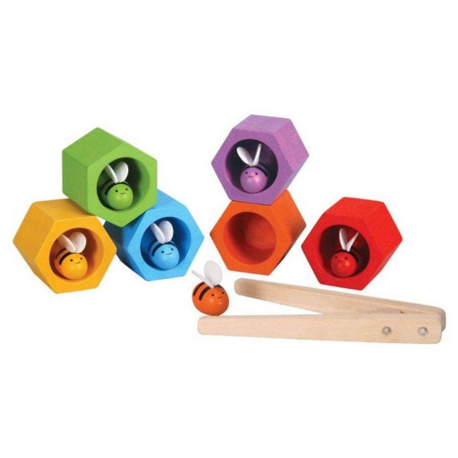 Plantoys Wooden Beehives