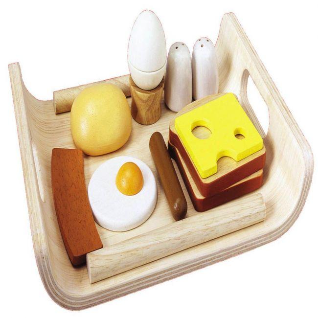 Plantoys Wooden Breakfast Menu