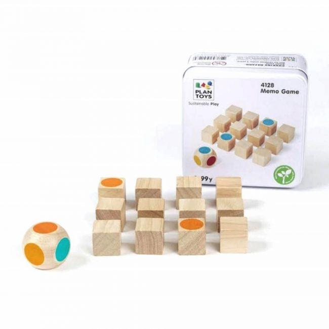 Plantoys Wooden Memo Game