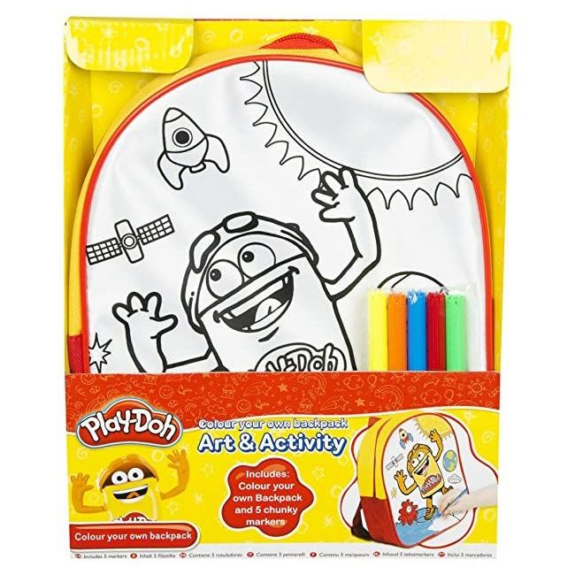Play Doh - Colour Your Own Back Pack