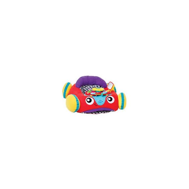 Playgro Music and Lights Red Comfy Car for Baby Infant Toddler