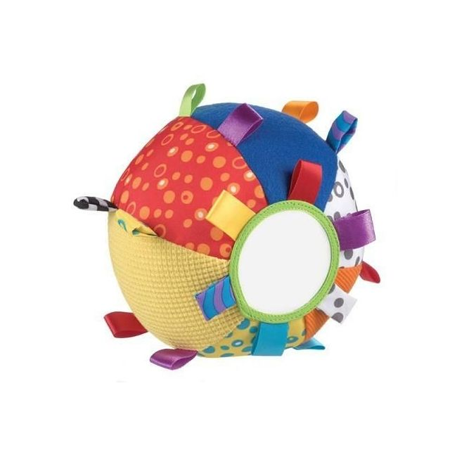 Playgro My Fisrt Loopy Loops Mirror Ball, Baby Toy