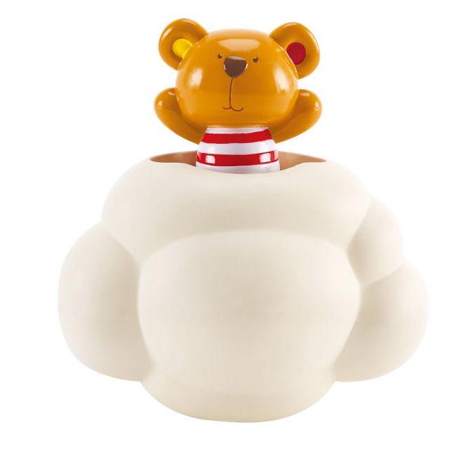 Hape Kids Little Splashers Pop-Up Teddy Shower Buddy Bath Toy Set