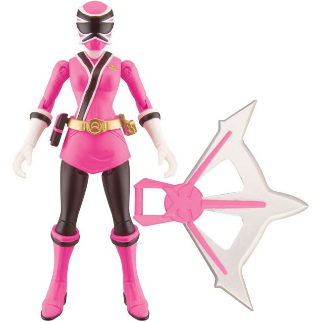 Power Rangers - 4 Basic Action Figure With Ac