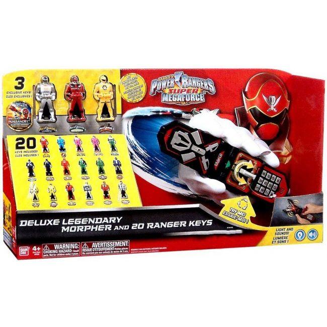Power Rangers - Deluxe Morpher 2 Ranger Keys