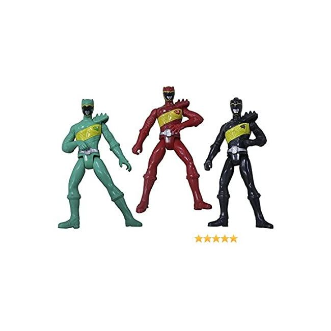 Power Rangers - Dino Charge Basic Action Figure With Accessories 10 Cm