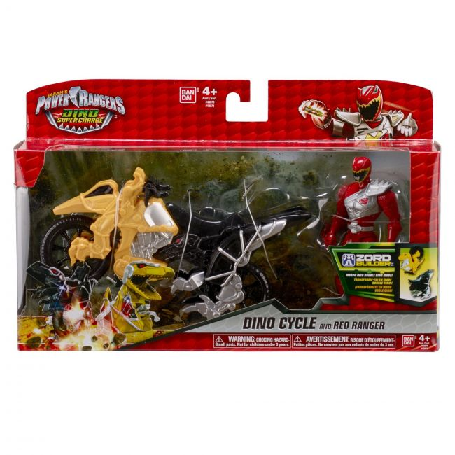 Power Rangers - Dino Charge Cycle With Figure