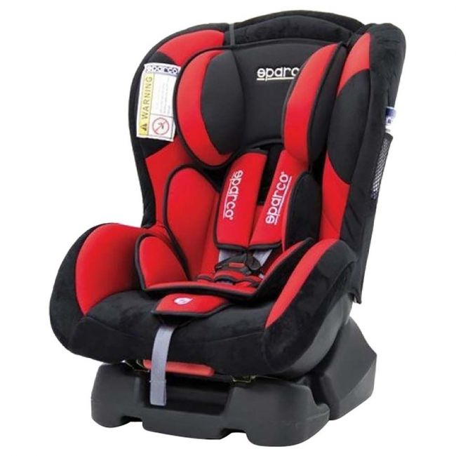 Sparco Red F500k Group 0/1 Carseat