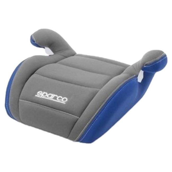 Sparco Grey/Blue Kid's Booster Sear