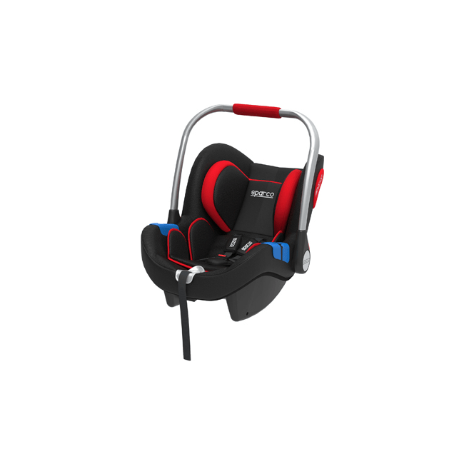 Sparco Red F300i Group 0+ Car Seat