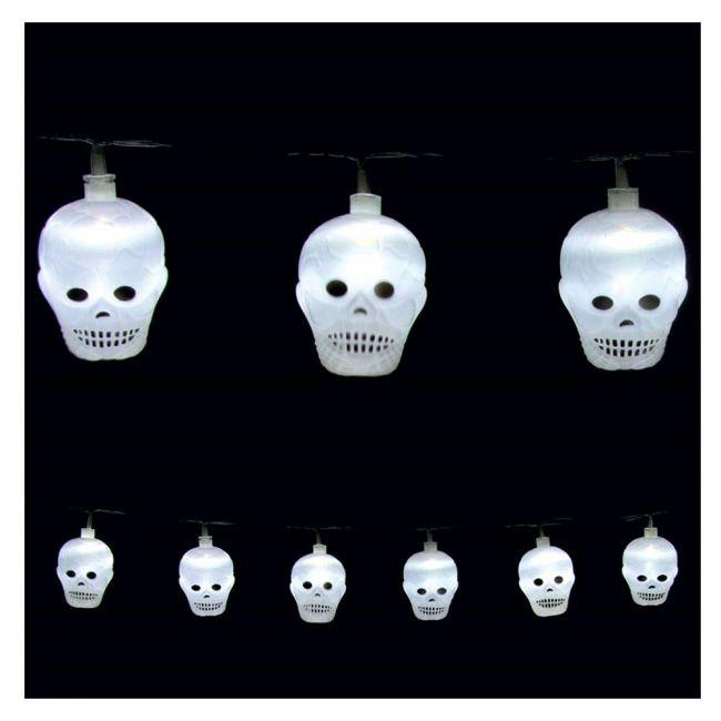 Premier decorations - 20 Skull Lights