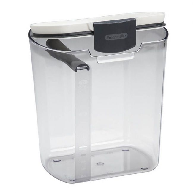 Prepworks - By Progressive Flour Storage Prokeeper Container, 3.7 L, Clear