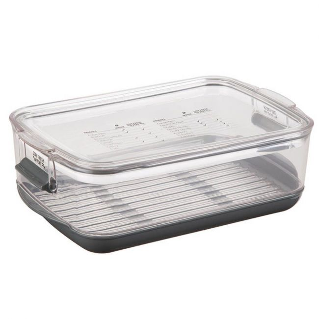Prepworks - By Progressive Produce Prokeeper, Stay-Fresh Vent System, Clear, 2.8 L
