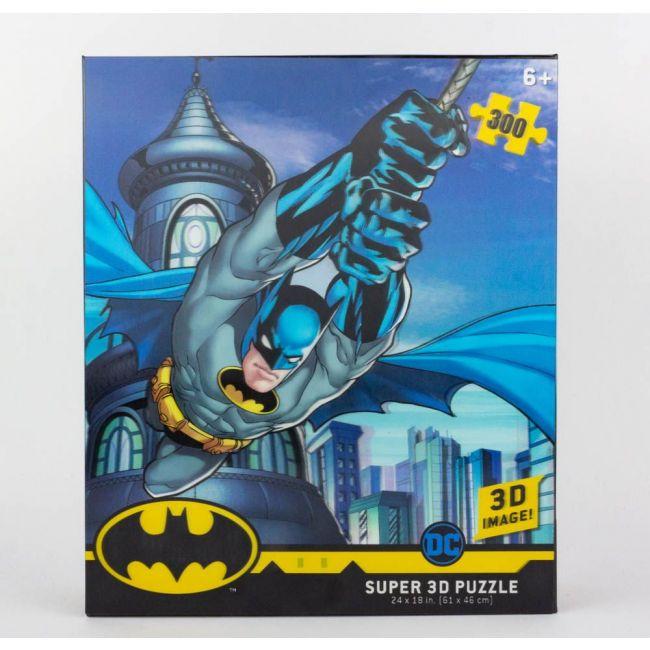 Prime 3D - DC Comics Licensed Batman Soaring 3D Puzzle 300 Pcs