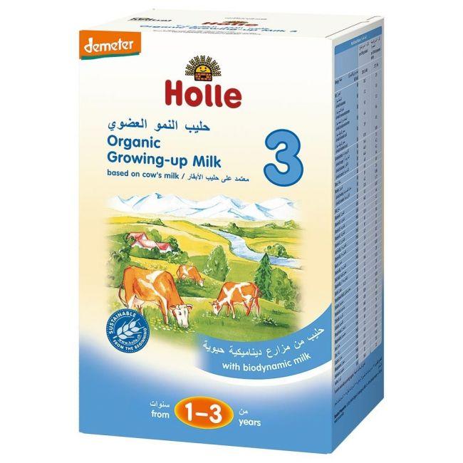 Holle - Organic Growing up Milk 3 - 600g