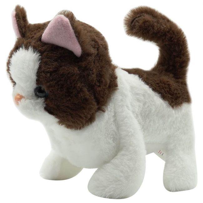 PUGS AT PLAY - Bella Walking Cat Plush Toy