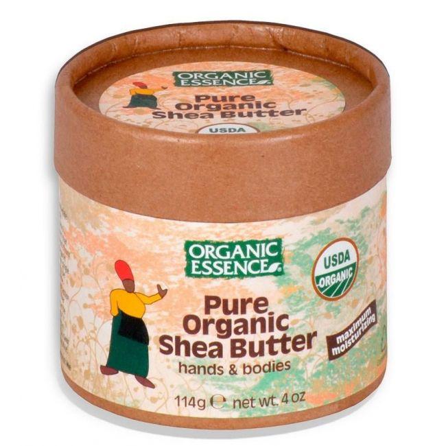Organic Essence Pure Organic Shea Butter, 4oz
