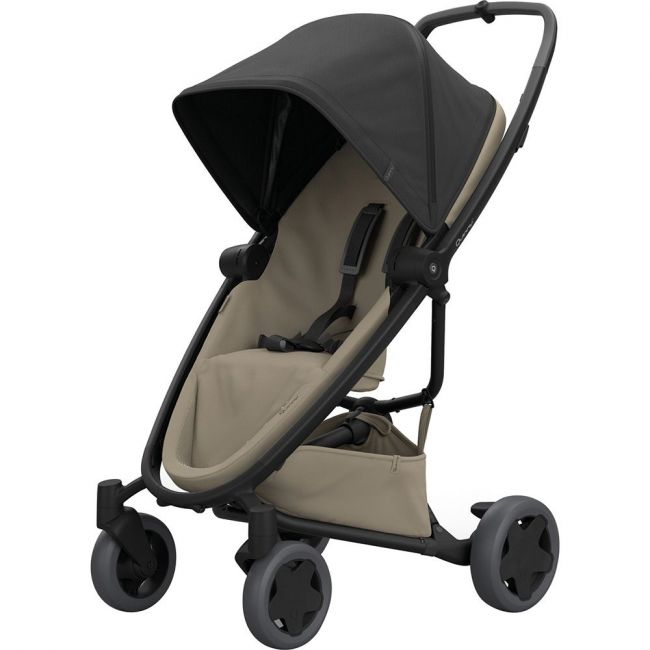 Quinny Black on Sand Zapp Flex Plus Stroller