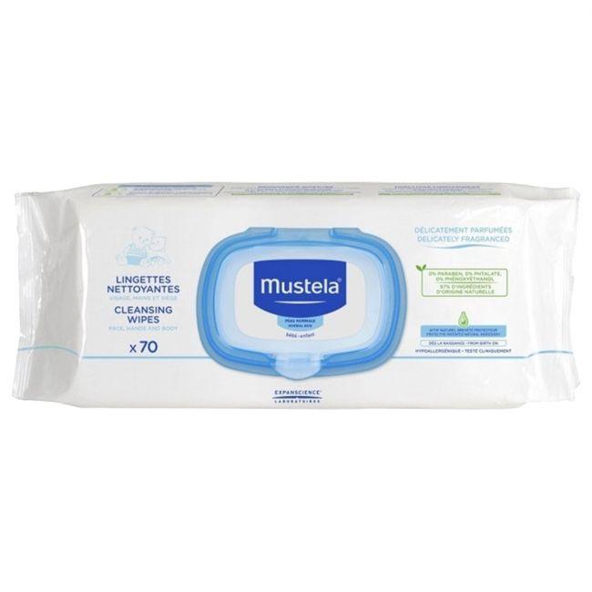 Mustela - Cleansing Wipes - 70's