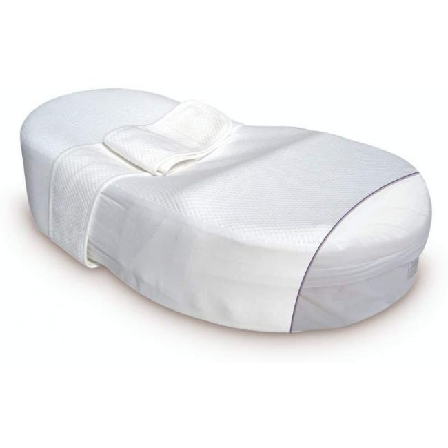 Red Castle-  Cocoonababy - Fitted Sheet - White
