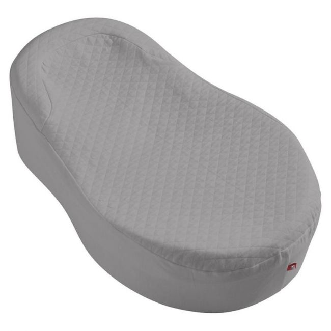 Red Castle  - fitted sheet -grey cocoonababy