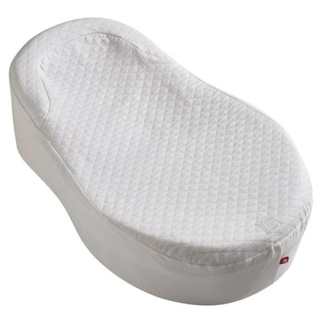 Red Castle - White Cocoonababy    - Fitted Sheet