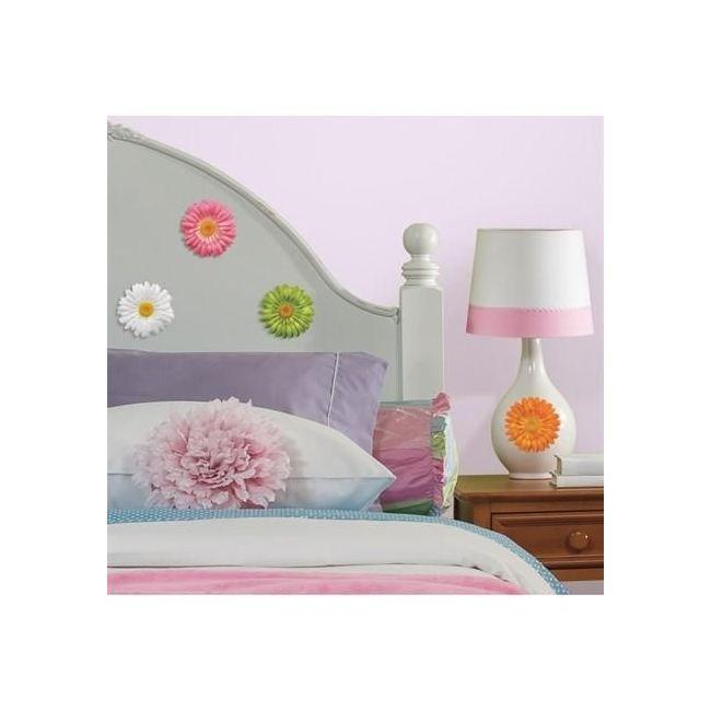 RoomMates Gerber Daisies Peel & Stick Wall Decals