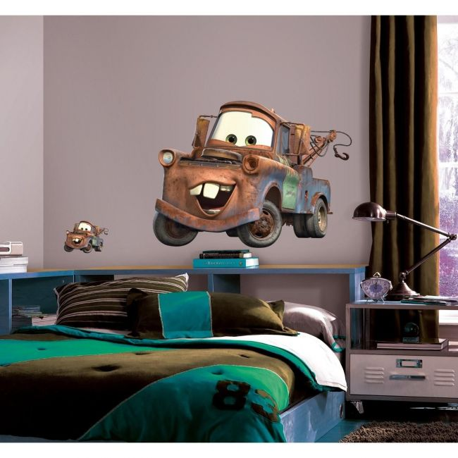 RoomMates Cars Mater Peel & Stick Giant Wall Decal
