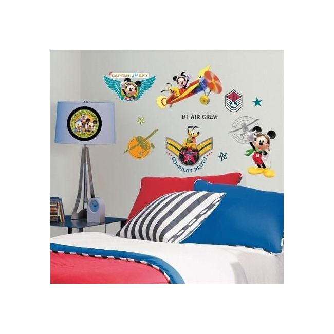 RoomMates Mickey Mouse Clubhouse Pilot Wall