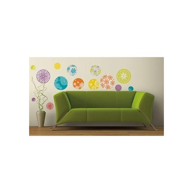 RoomMates Patterned Dots Wall Decals