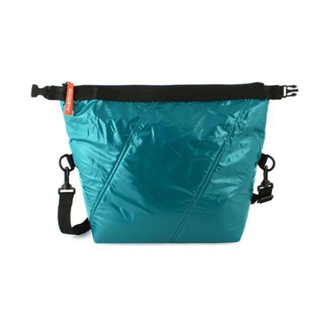 Roll Top Bag Dark Aqua