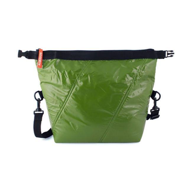 Roll Top Bag Dark Green