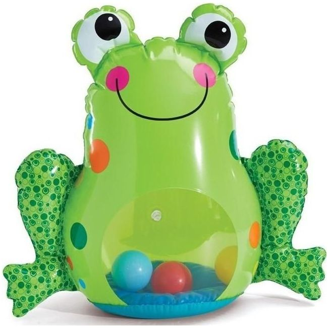 Little Hero Roly Poly Frog Toy