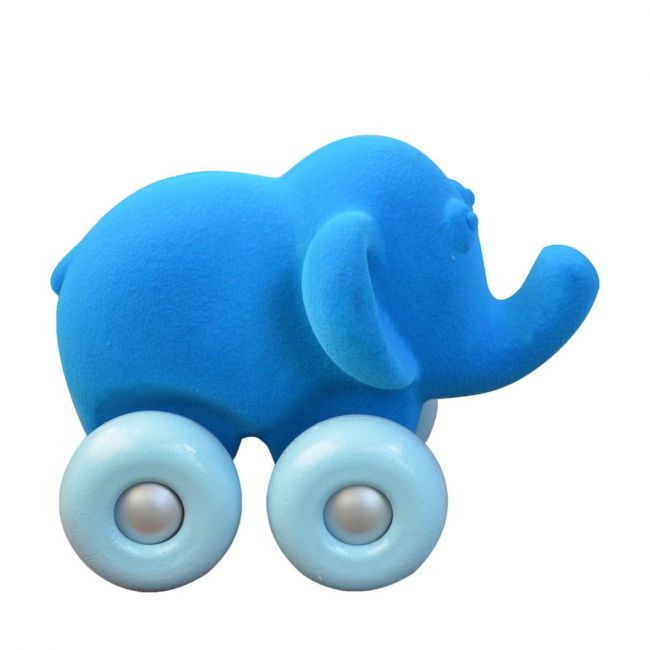 Rubbabu - Rubbabu - Aniwheelies Elephant Blue - Large