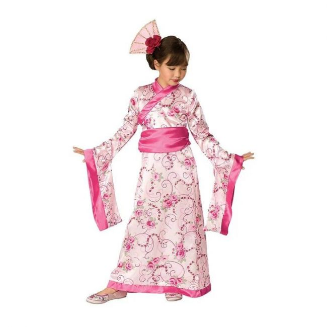 Rubie's - Around The World Asian Princess Old Costume
