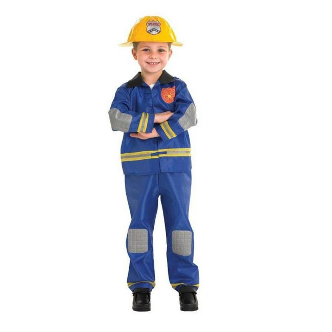 Rubie's - Professions Fire Fighter Child Costume