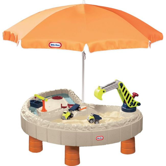 Little Tikes - Builders Bay Sand & Water Table