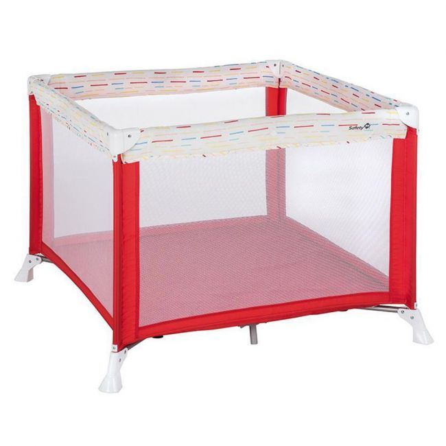 Safety 1st - Circus Playpen - Red Lines