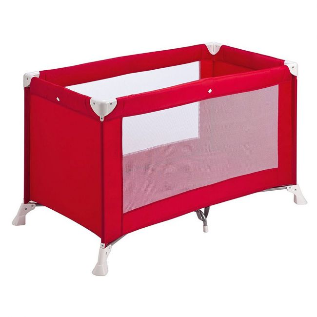 Safety 1st - Soft Dreams Travel Cot - Red Lines