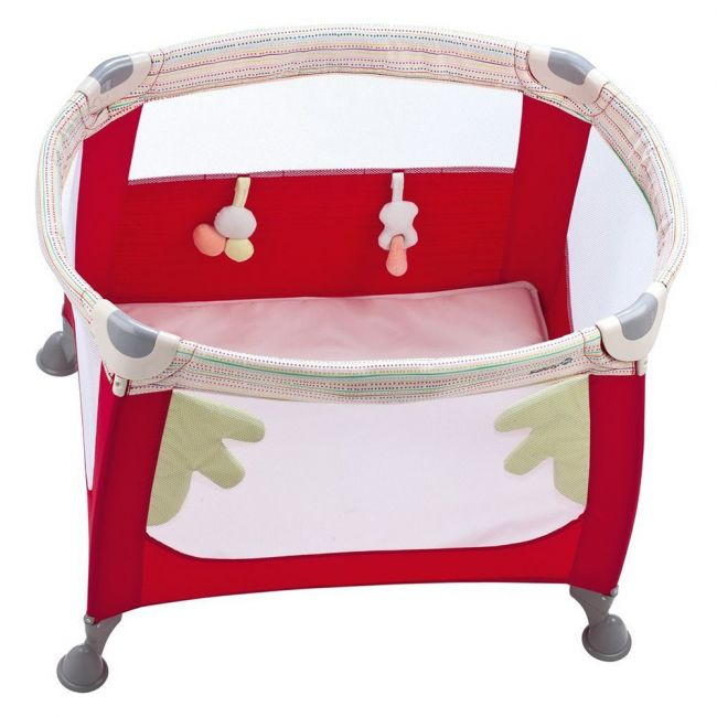 Safety 1st - Zoom Travel Cot - Red Dot
