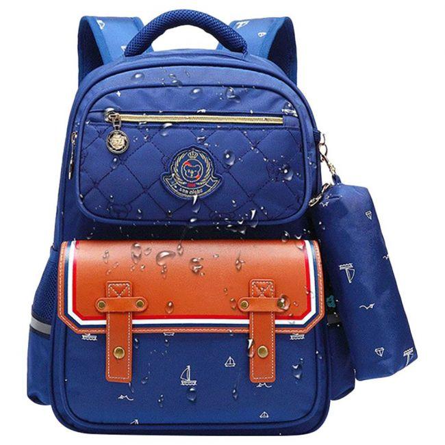 Sambox Fashion Kids School Bag With Pencil Case - Hazel