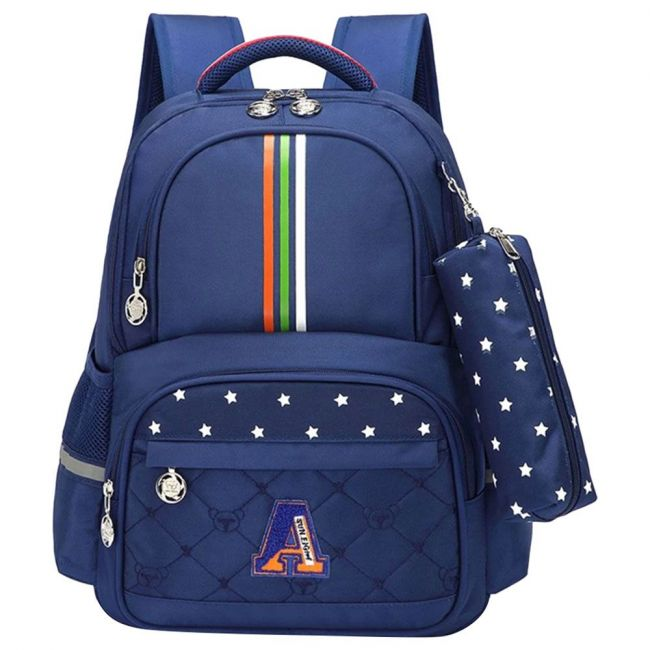 Sambox Neo Kids School Backpack With Pencil Case - Twine