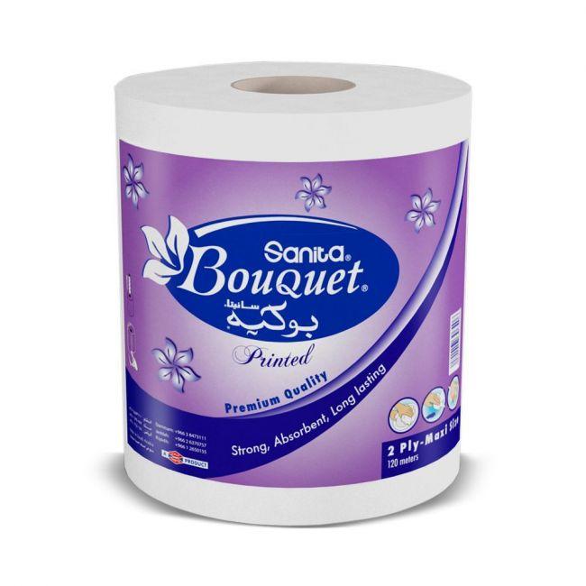 Sanita  Bouquet Maxi Roll 2 Ply 120 Meters