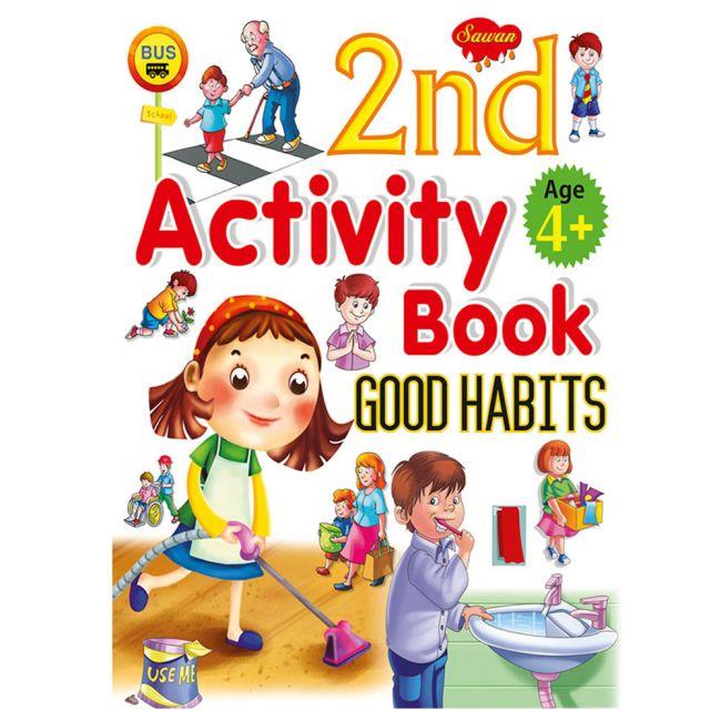 Sawan 2nd Activity Book Good Habits 4+ Children's Book