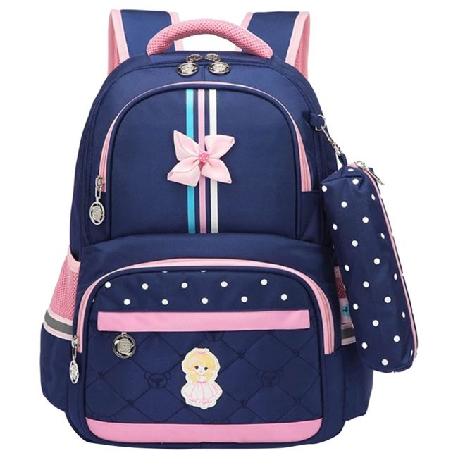 Sambox Neo Kids School Backpack With Pencil Case - Crossbow