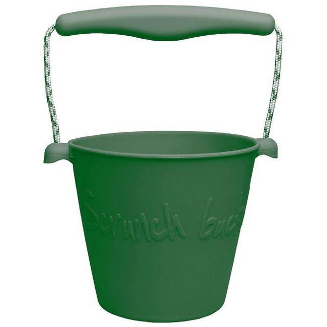 Scrunch - Bucket - Dark Moss Green