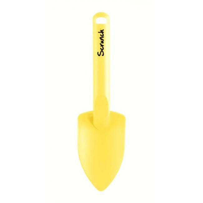 Scrunch - Spade - Pastel Yellow