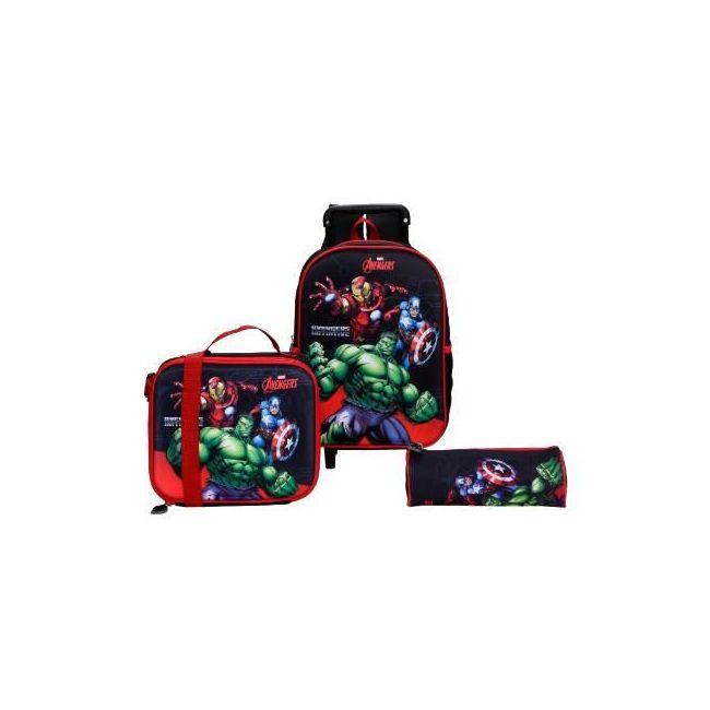 Disney Avengers Printed 3-Piece Bag Set